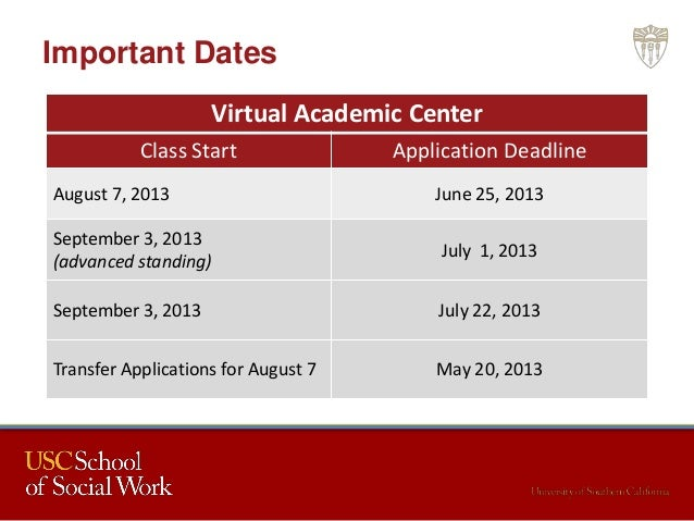 Msw personal statement usc