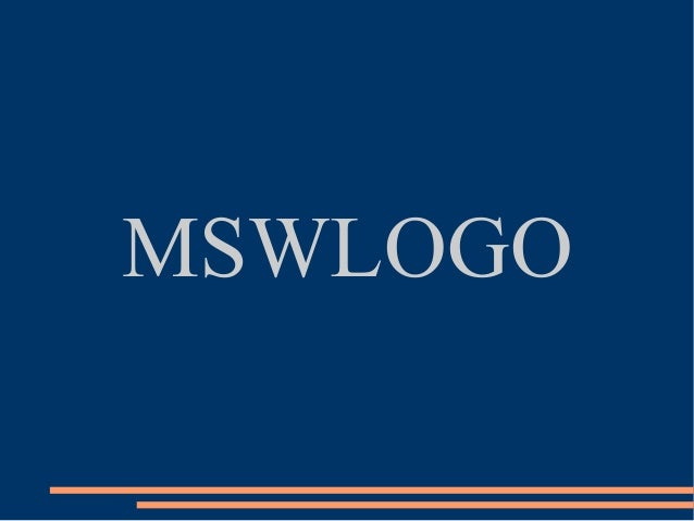 MSWLOGO