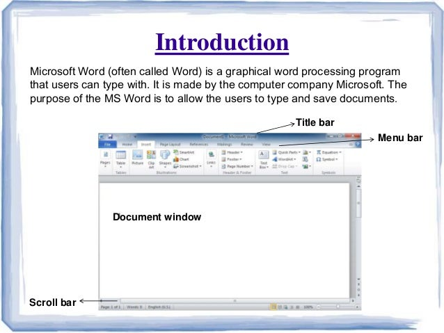 2 features of ms word