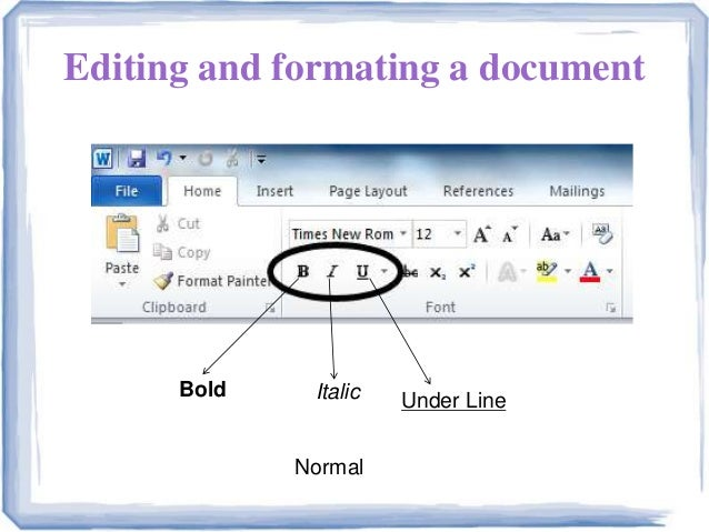 ms word presentation ppt