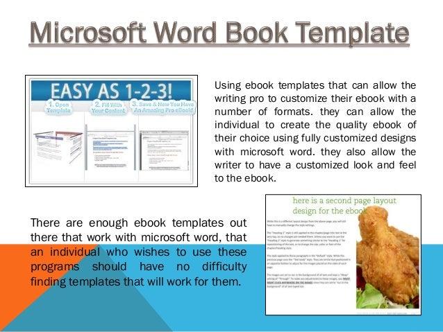 Write A Book Template Microsoft Word Eczalinf