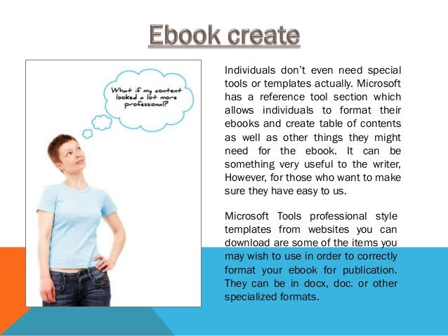 Ms Word Ebook Template