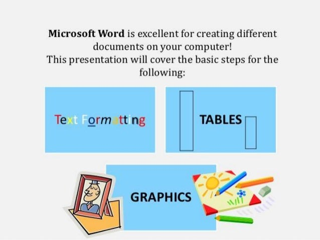 ms word excell