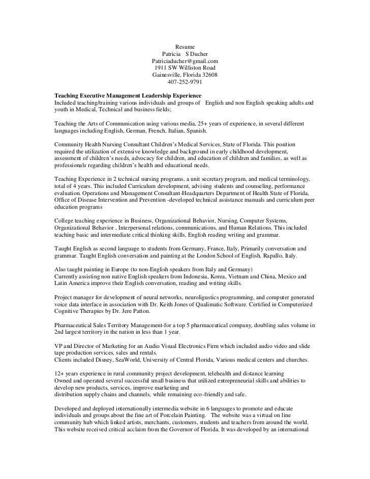 ms word updated teaching resume cv