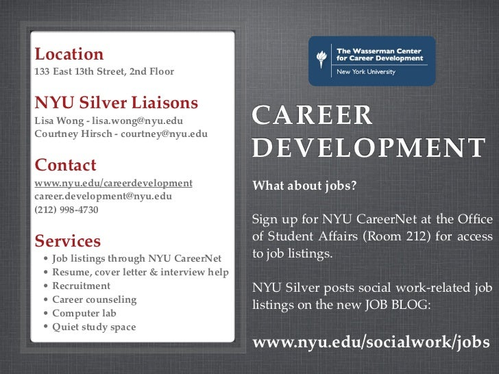 Nyu Silver School Of Social Work Resources