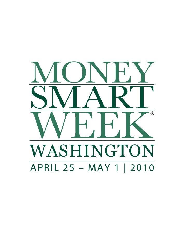 WASHINGTON APRIL 25 – MAY 1   2010