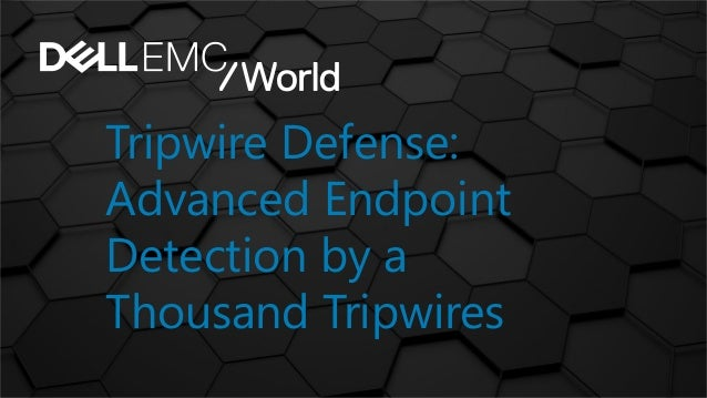Tripwire Defense: Advanced Endpoint Detection by a Thousand Tripwires