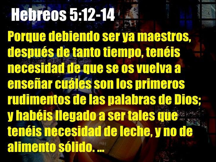 Resultado de imagen para HEBREOS 5:12