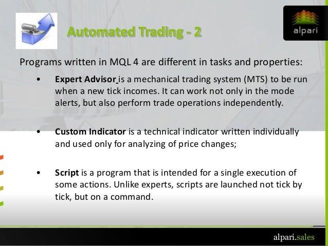 Mt4 Presentation