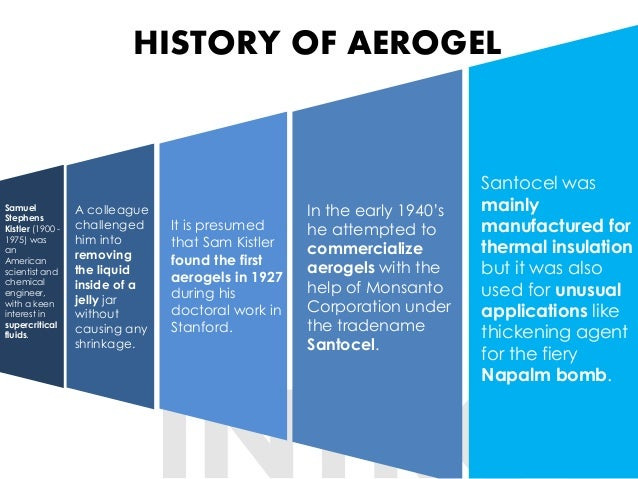 Aerogels: becoming economically feasible