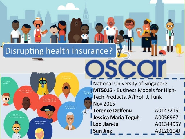 1 Disrup)nghealthinsurance? Na)onalUniversityofSingapore MT5016-BusinessModelsforHigh- TechProducts,A/Prof....