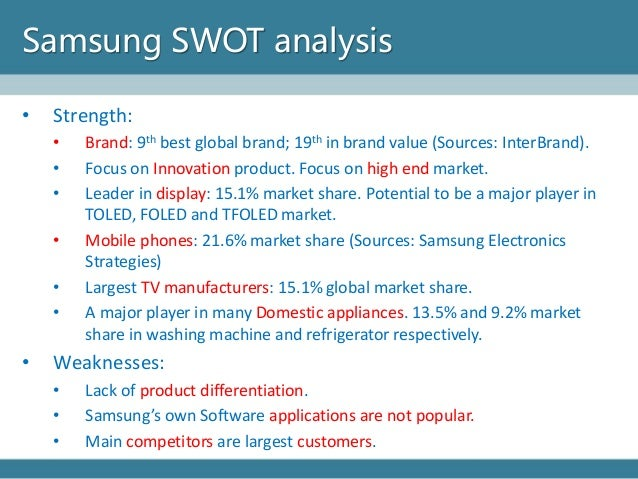 """samsung brand strength With a brand value of $45,297 million this year, samsung ranked 7 th in interbrand's """"best global brands 2015"""" samsung ranked among the top 10 brands on interbrand's list since 2012 (9 th), and has been advancing its position for four consecutive years the major factors that played a."""