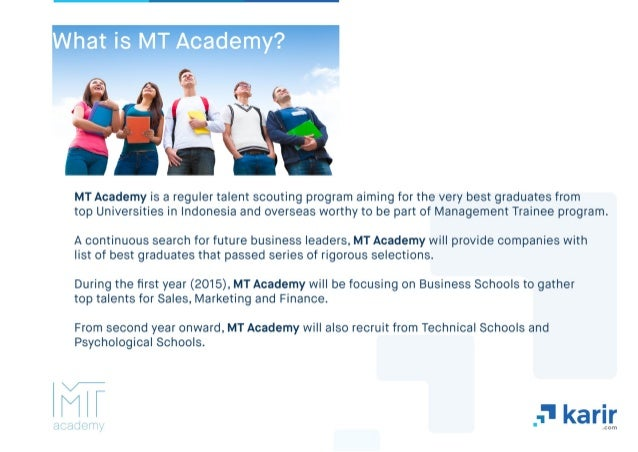 MT Academy 2015 Karir.com Slide 2