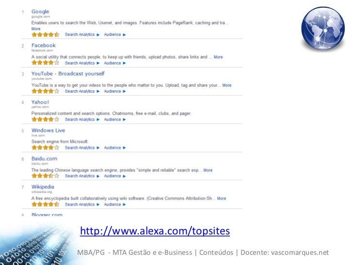 http://www.alexa.com/topsites<br />