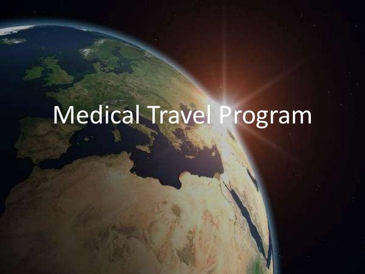 Medical Travel Program<br />