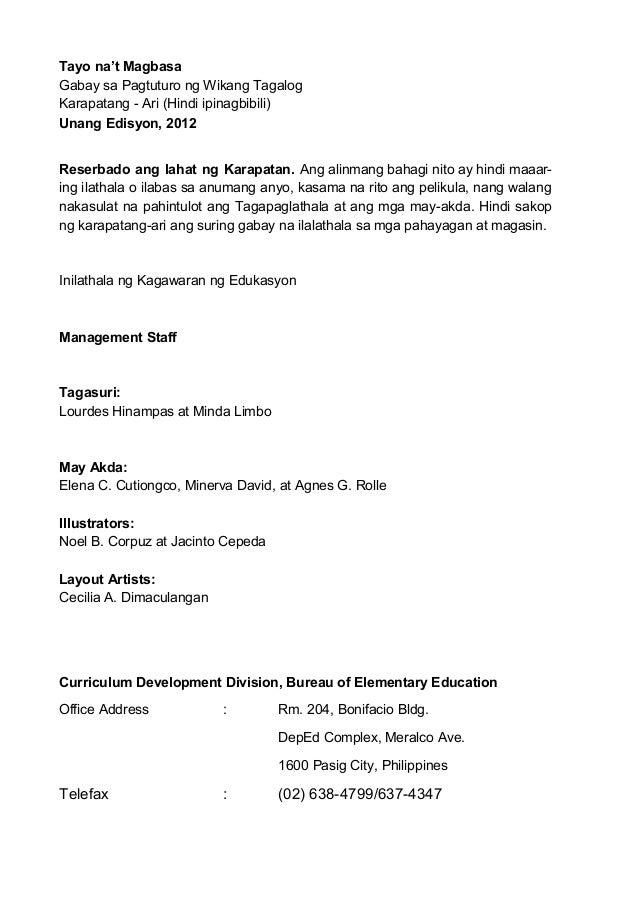 Mtb mle tagalog ortograpiya1 for Bureau tagalog