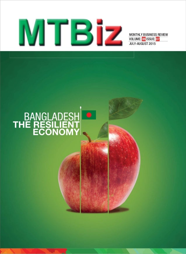 MONTHLY BUSINESS REVIEW VOLUME: 06 ISSUE: 07 JULY-AUGUST 2015 MON VOL JUL