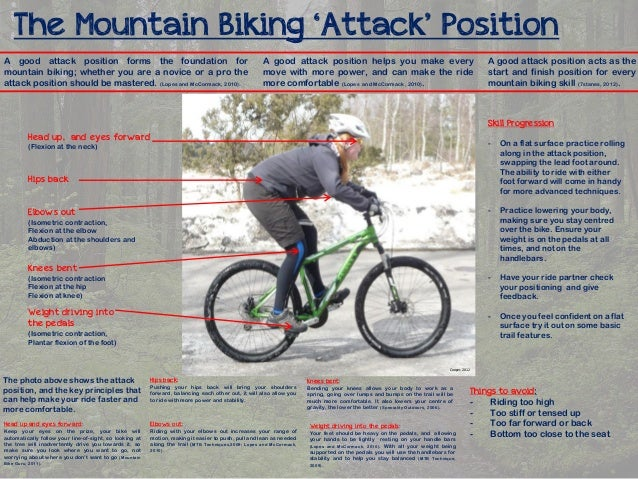 The Mountain Biking 'Attack' Position A good attack position forms the foundation for mountain biking; whether you are a n...