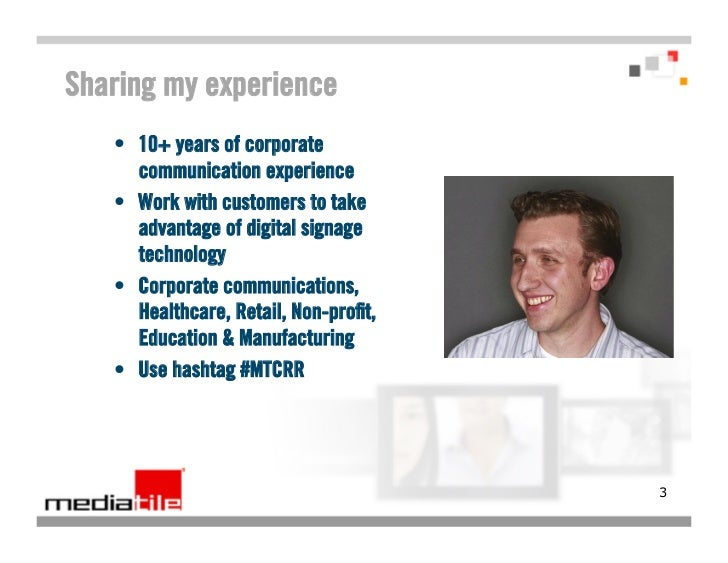 Digital Signage in Corporate Communications webinar featuring Rolls-Royce Slide 3