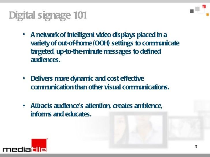 Enhancing Employee Communications with Digital Signage Slide 3