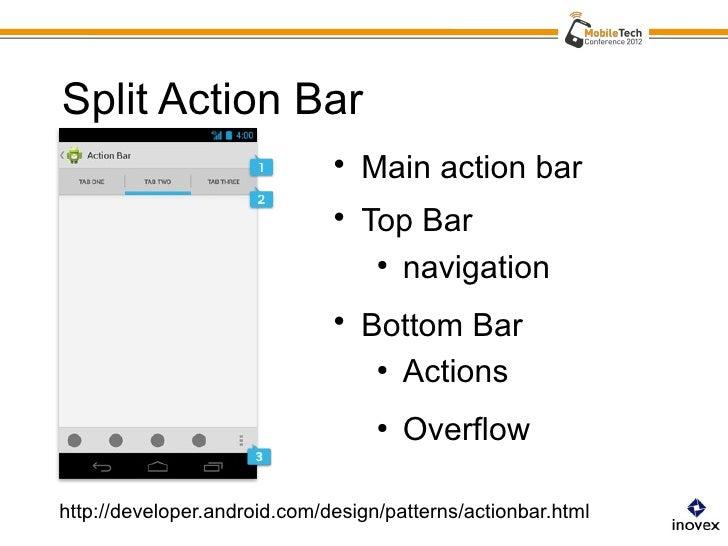 Android Actionbar Navigation Reloaded