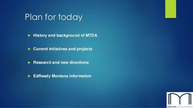 Mtda update mcel 2014 Slide 2