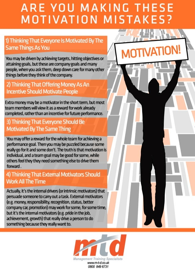 Are You Making These Motivation Mistakes?