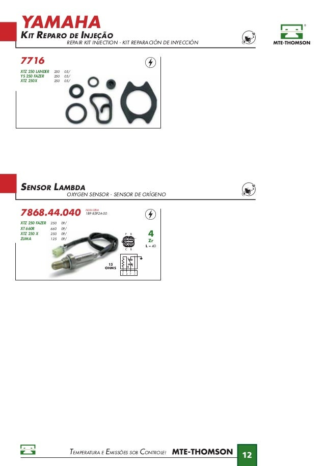 MTE Catálogo Moto 2013