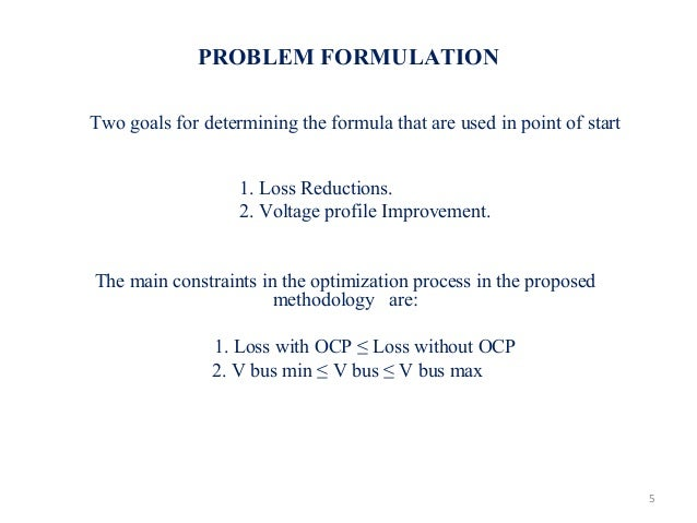 optimal placement of dg using ga In this section objective functions that ga uses for optimal sizing and placement  for dg units is proposed each of these goal functions can be used separately to.