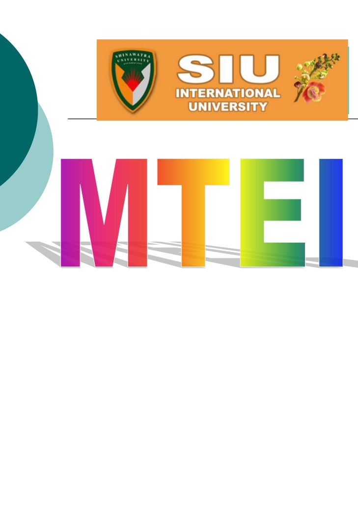 ACTIVITES OF MTEIL STUDENTS Year 2008 (June –Dec )