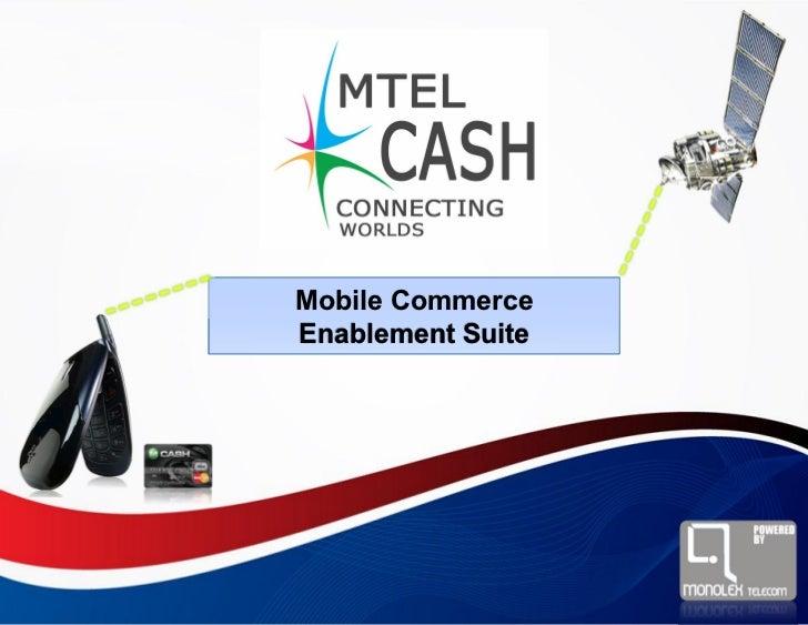 Mobile CommerceEnablement Suite