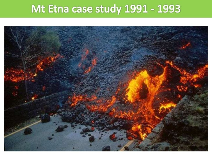 Mt Etna is located on the island of Sicily inItalyItaly is an MEDC and had a GDP per capitaof over $20,000 in 1991More tha...