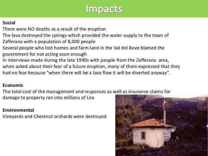 gcse geography mt etna case study