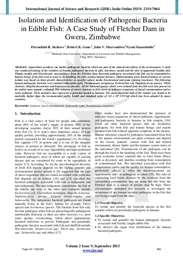 isolation of pathogenic microorganisms Abstract mastitis is a multi-etiologic disease of the mammary gland characterized mainly by reduction in milk production and milk quality due to intramammary infection by pathogenic bacteria nearly 83% of lactating dairy cows in indonesia are infected with mastitis in various inflammation degrees this study was.
