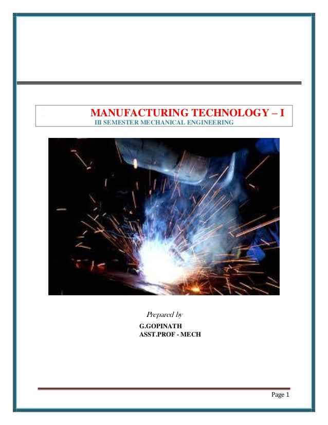 A Textbook Of Production Technology By Pc Sharma Pdf