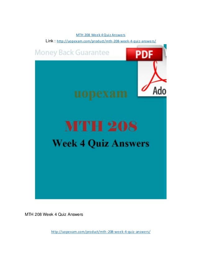 math 208 week 1 quiz Answers to math 208 university of covered in math 208 math 117 final.