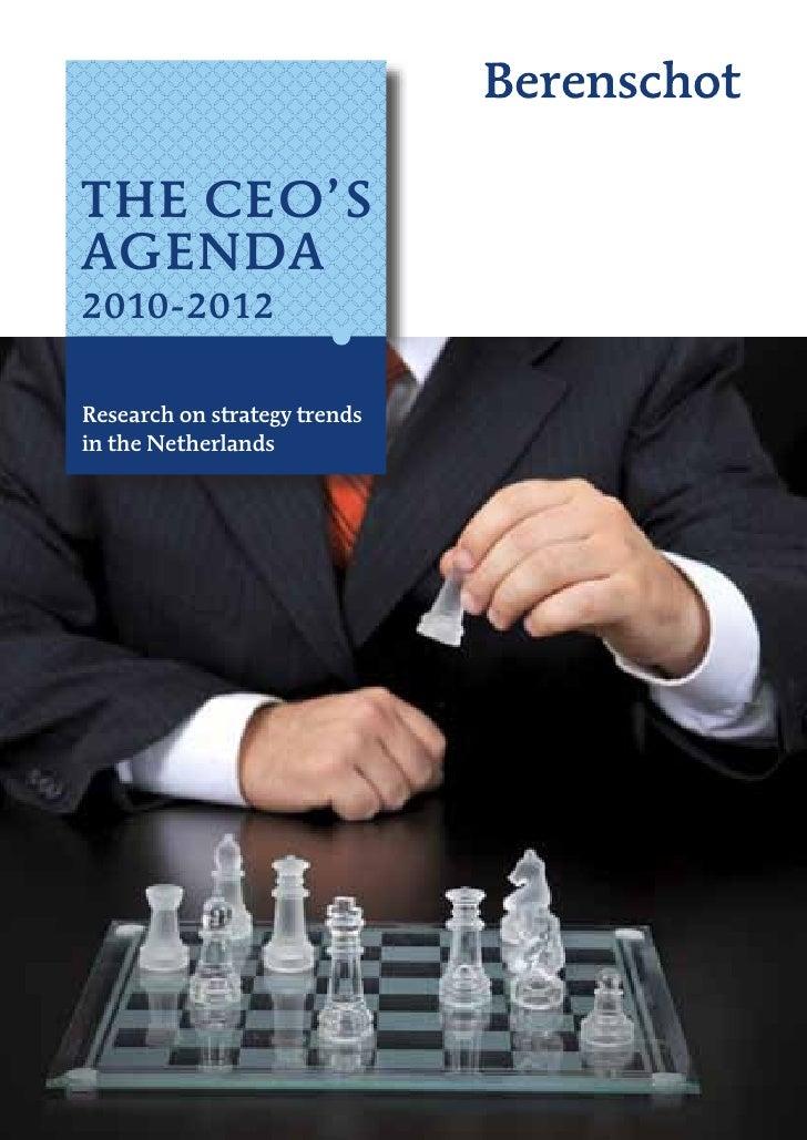 CEO agenda
