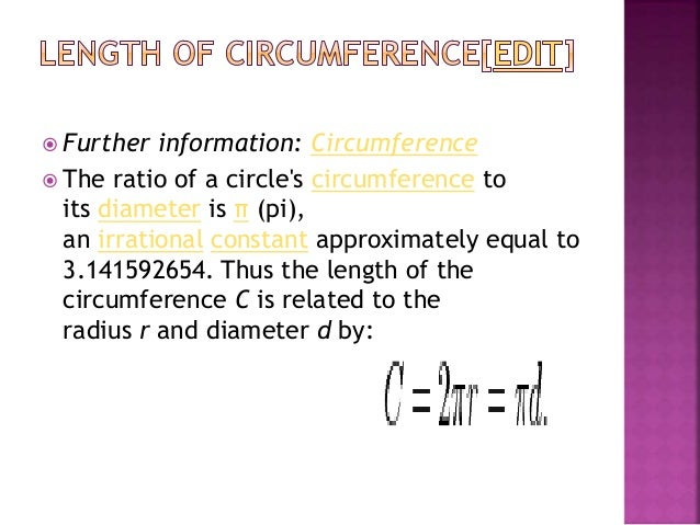  that is, approximately 79 percent of the circumscribingsquare (whose side is of length d).  The circle is the plane cur...