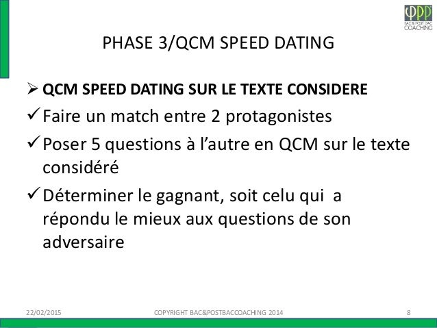qcm-speed-dating