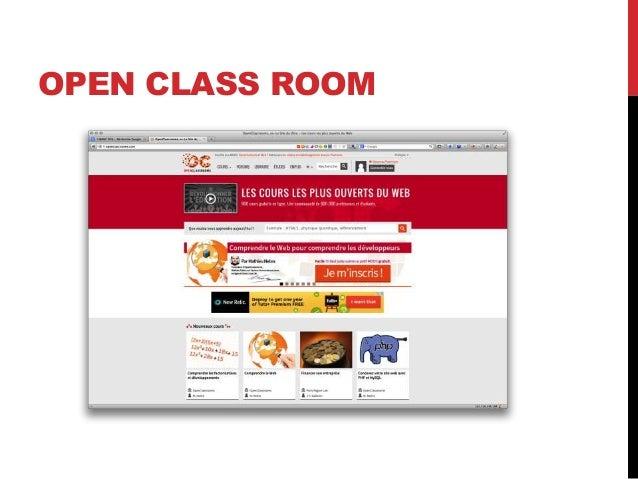 OPEN CLASS ROOM