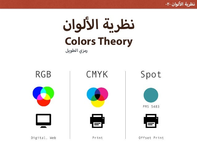 لوان ا نظرية ColorsTheoryالطويل رمزي -٢- لوان ا نظرية