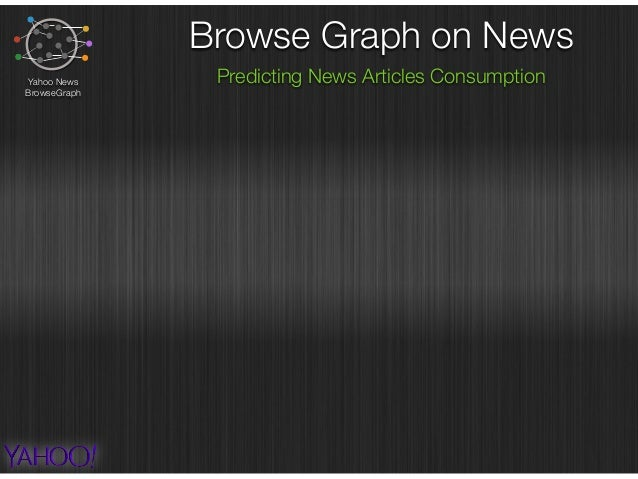 Browse Graph on News Predicting News Articles ConsumptionYahoo News BrowseGraph hypothesis : news articles consumed are di...