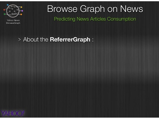 Browse Graph on News Predicting News Articles ConsumptionYahoo News BrowseGraph About the ReferrerGraph : prediction infor...