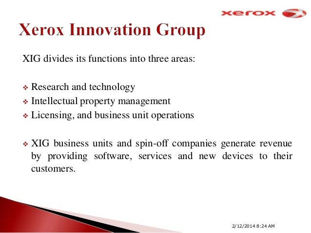 xerox inxight parc spin off Parc, once known as xerox parc, was spun out as a subsidiary of xerox in 2002 for the past decade it's been responsible for its own bottom line, and it's been expected to turn a profit.