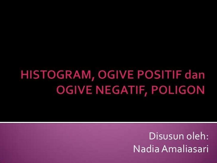 Disusun oleh:Nadia Amaliasari