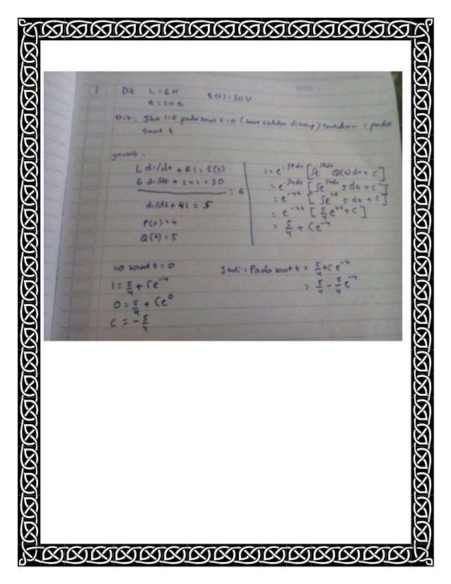 Matematika semester 3 bab 2