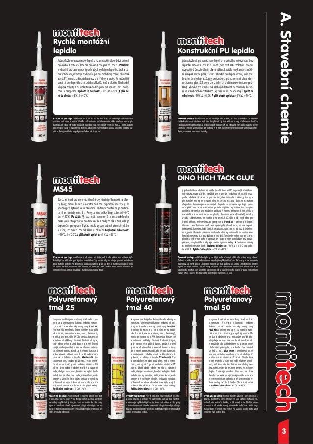 Montitech stavební chemie Slide 3