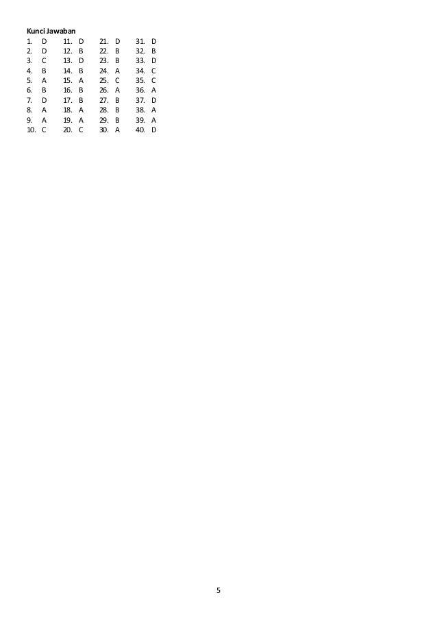 Soal Uas Ganjil Matematika Smp Kelas Vii 2015 2016