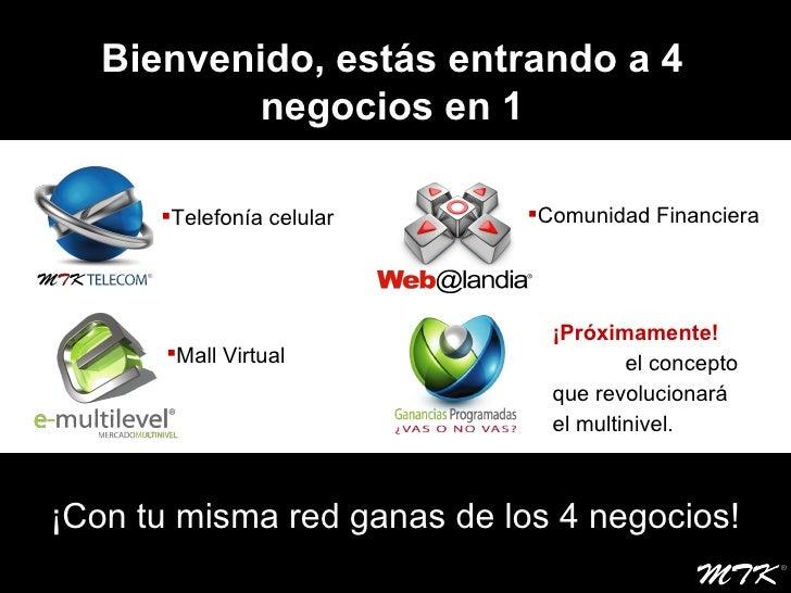 Mtk Telecom Presentacion Slide 2