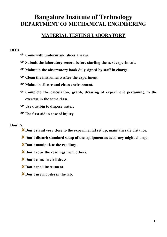 Material Testing Lab Manual page 12